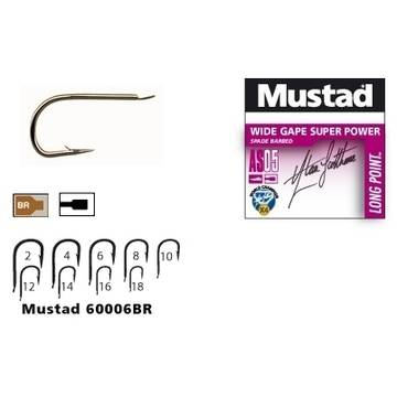 MUSTAD CIRLIG LONG POINT AS05 .