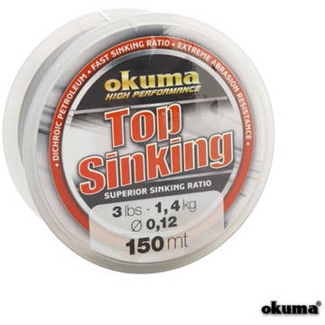 OKUMA FIR TOP SINKING 020MM/3,6KG/150M