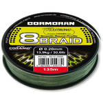 Fir de crap CORMORAN CORASTRONG 8BRAID VERDE 023MM.16KG.135M
