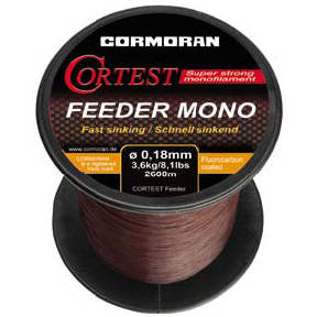 Fir de crap CORMORAN FIR CORTEST FEEDER S 020MM/4,2KG/2200M