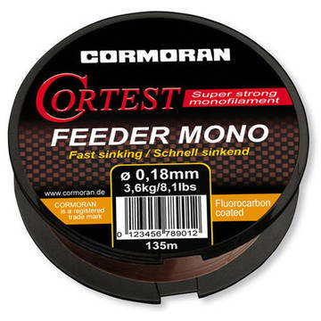 Fir de crap CORMORAN FIR CORTEST FEEDER S 025MM/6,3KG/1400M