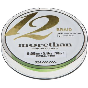 Fir de crap CORMORAN MORETHAN 12BRAID VERDE 012MM/10,2KG/135M