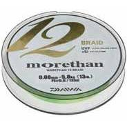 Fir de crap DAIWA FIR MORETHAN 12BRAID VERDE 008MM/5,8KG/135M