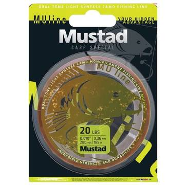 Fir de crap MUSTAD FIR CARP SPECIAL 023MM/3,6KG/1200M