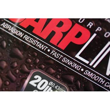 Fir de crap KORDA FIR CARP LINE 028MM/8LB/1000M