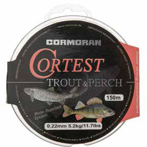 Fir pentru rapitori CORMORAN CORTEST TROUT&PERCH 014MM/2,3KG/150M
