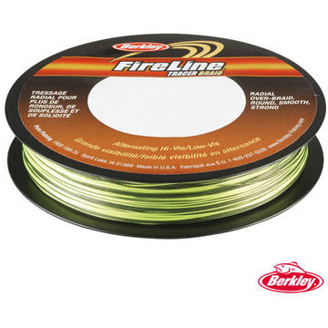 Fir pentru rapitori PURE FISHING FIR NEW FIRELINE BRAID BICOLOR 040MM/58,1KG/110M