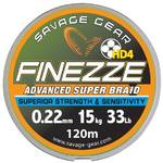 Fir pentru rapitori SAVAGE GEAR FIR TEXTIL FINESSE YELLOW 013MM.7,8KG 120M SAVAGE