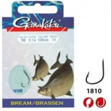 CARLIGE GAMAKATSU LEGATE BREAM FEEDER 0,14MM 10BUC/PL