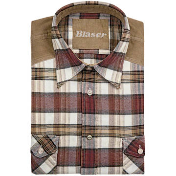 Camasi, bluze si tricouri BLASER ACTIVE OUTFITS CAMASA JAKOB HEAVY FLANNEL MAR.L