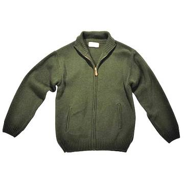 Pulovere, bluze, jachete fleece ARROW CARDIGAN ELK VERDE MARIME XXXL