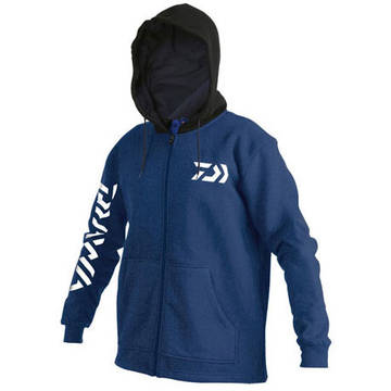 Pulovere, bluze, jachete fleece DAIWA HANORAC TD ALBASTRU MAR.XL