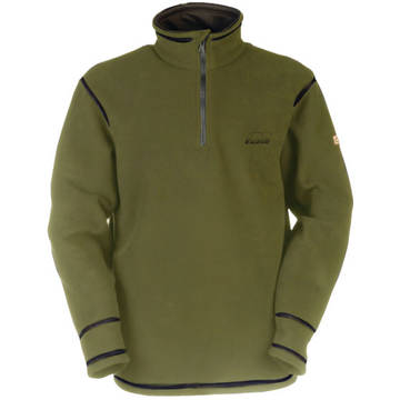 Pulovere, bluze, jachete fleece BALENO FLEECE MATLASAT ROSBERG VERDE MAR 2XL