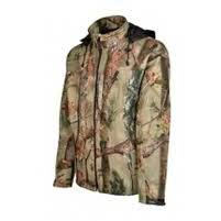 Pulovere, bluze, jachete fleece TREESCO JACHETA IMPERMEABILA SOFTSHELL GHOSTCAMO 3XL