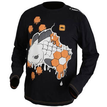 Pulovere, bluze, jachete fleece PROLOGIC BLUZA HEXAGON CARP GRAFFITI MAS.XL
