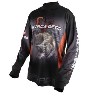 Pulovere, bluze, jachete fleece SAVAGE GEAR BLUZA TOUR.JERSEY PIKE/ZANDER/PERCH MAR.S