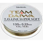 DAIWA TD SUPER SOFT CLEAR 023MM/4,9KG/135M
