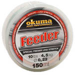 Fir de crap OKUMA FIR FEEDER VERDE 016MM/2,3KG/150M