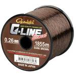 Fir de crap GAMAKATSU FIR G-LINE ELEMENT DARK BROWN 024MM.4,10KG.2270M