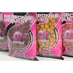 Momeala de carlig MAINLINE BOILIES RESPONSE 15MM STRAWBERRY 450G