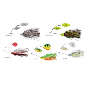 Lingurita SAVAGE GEAR SPINNERBAIT  DA BUSH NR.3/32G YELLOW SILVER