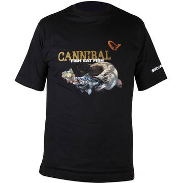 Camasi, bluze si tricouri SAVAGE GEAR TRICOU CANNIBAL MAR.XL